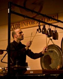 Oscar Martí, Percusión